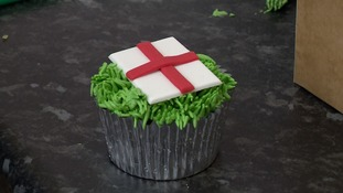 A bakery in Essex has made some England football themed cakes.