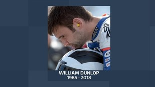 William Dunlop's funeral took place on Wednesday.