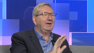 Len McCluskey told ITV News Political Editor Robert Peston he had 'no animosity' towards Theresa May.