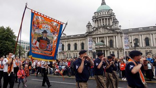 Twelfth of July parades take place across NI