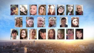 victims of Manchester Arena bombing