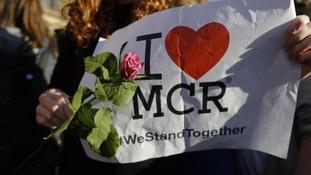 I love Manchester sign