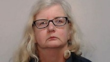 "Barbara Coombes who suffered a ""lifetime"" of abuse from her bullying father has been jailed for nine years."
