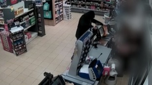 CCTV footage released of knife-point robbery in Peterborough