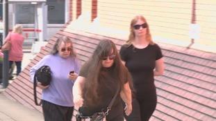 Denise Cranston (L), Dawn Cranston (M) and Abigail Burling (R)