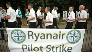 Ryanair pilots' strike after last-ditch talks fail