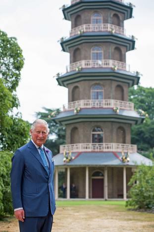 Prince of Wales visits Royal Botanic Gardens in Kew