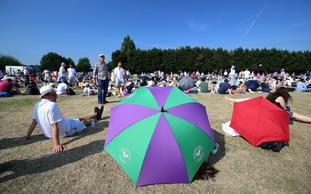 Wimbledon queue