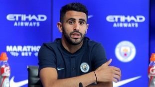 Riyad Mahrez says he wants to win the Champions League with Manchester City