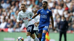 Mahrez briefly went on strike after his move to City broke down in January