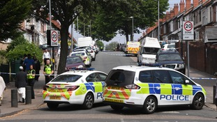West Midlands Police were called to Aubrey Road in the Small Heath area shortly after 11am on Thursday.