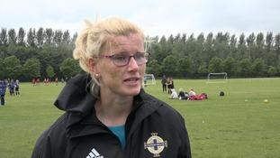 Northern Ireland defender Julie Nelson
