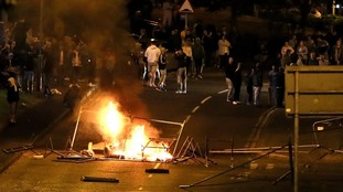 Petrol bombs hurled at police and random vehicles on sixth night of Londonderry violence