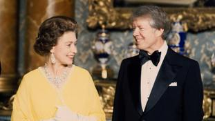 In Pictures: Which previous presidents have met the Queen?