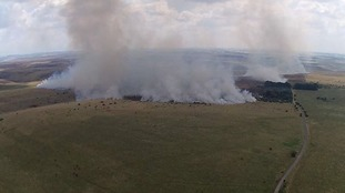Smoke on Salisbury Plain