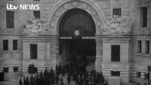 Rare archive films tracing Waterloo's history released for station's 170th anniversary