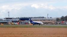 Humberside Airport.