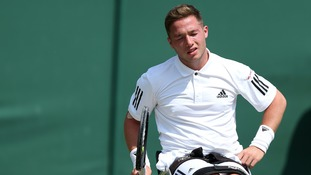 Alfie Hewett is out of Wimbledon.