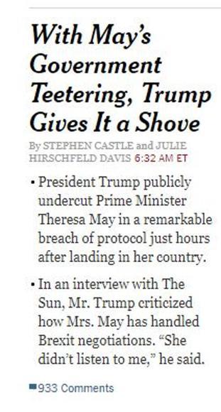 New York Times' website
