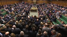 Packed House of Commons