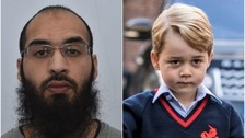Husnain Rashid (left) called for jihadists to attack Prince George