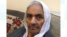 This is the 86-year-old woman stabbed to death yesterday.
