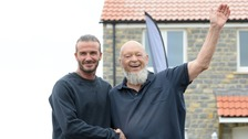 Backed by Beckham - Michael Eavis' housing vision