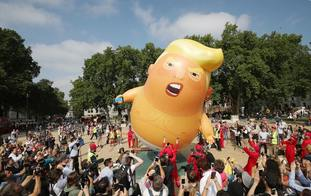 Trump blimp
