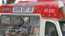 Stock image of ice cream van