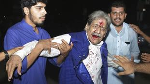 132 die in Pakistan election violence ahead of Sharif's return