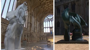 From inside to out: New exhibition opens at Ely Cathedral
