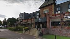 Man shot outside Cheadle hotel