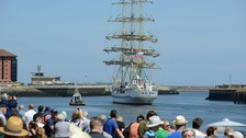 Tall Ships fleet leaves Sunderland