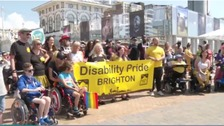 Disability Pride returns to Brighton and Hove
