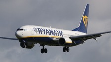 Passengers 'bleeding from ears' after Ryanair flight loses pressure