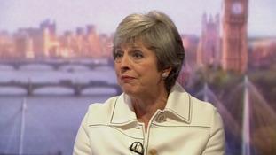 Theresa May held talks with Donald Trump this week.