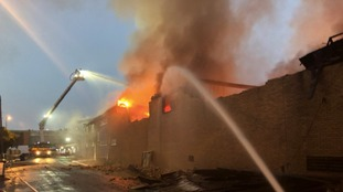 More than 100 firefighters tackle overnight blaze in Leeds