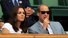 Duke and Duchess of Cambridge to watch Wimbledon men's singles final