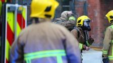 Firefighters tackle major gorse fire in Rasharkin