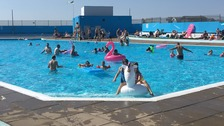 Essex Lido bosses say heatwave's been 'magic' for business
