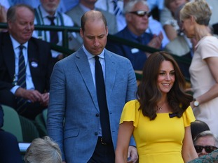 The pair took their seat in the Royal Box.