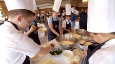 Jersey school children learn about hospitality industry