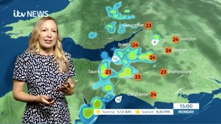 Thundery showers could be on the way