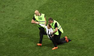 World Cup final protest