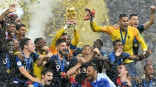 France beat Croatia 4-2 to win the World Cup for second time