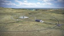The planned location of the UK's first spaceport in Sutherland on Scotland's north coast.