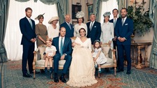 William and Kate release photos to mark Prince Louis' christening