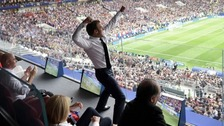 Macron's punch and the best images of French celebrations