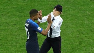 Members of Pussy Riot have been charged following the pitch invasion
