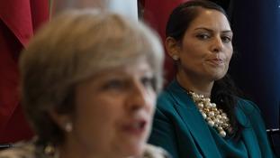 Former international development secretary Priti Patel is not a fan of Theresa May's Brexit plan.